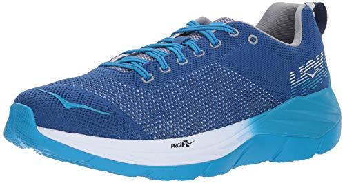 Hoka One Mach Mens Running-Shoes 1019279-TBBP_10 - True Blue/Blueprint