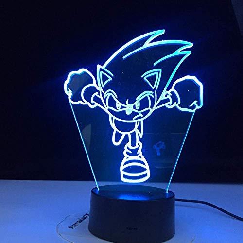 Luz De Noche Led De Linterna Mágica 3D, Regalo Para Lámpara De Mesa Usb Para Decoración De Habitación De Niños