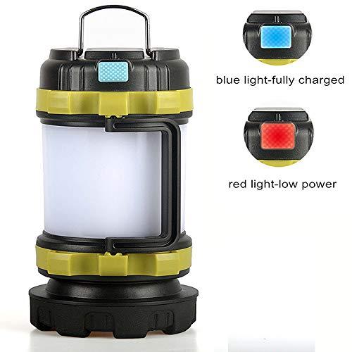 LXNY LED Searchlight Lanterne avec Power Bank Handheld Portable Spotlight USB Rechargeable étanche Chasse Lampe de Poche