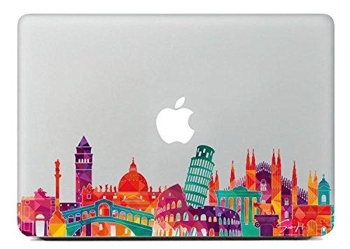 SueH Design Italia Design Adesivi Architetture Symboliche per Macbook 13