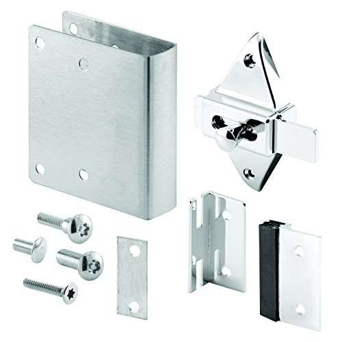 Security Fastener Pack of 1 Set Cast Zamak Sentry Supply 656-8918 Concealed Latch Lever Set Chrome Plated