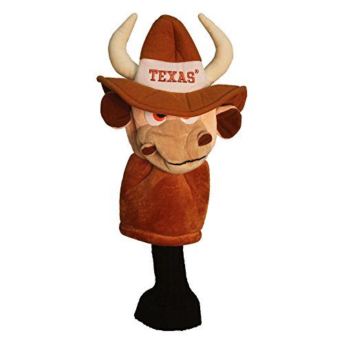 Great Price! Team Golf NCAA Texas Longhorns Mascot Golf Club Headcover, Fits most Oversized Drivers,...