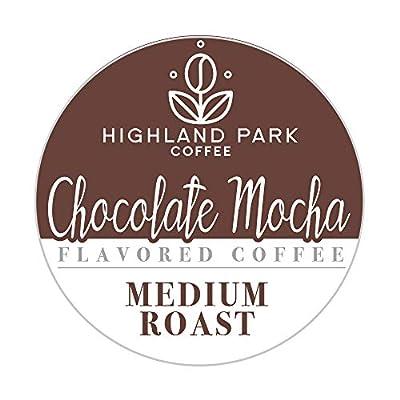 Highland Park Coffee Single Serve Coffee Pods , Chocolate Mocha, 80 Count