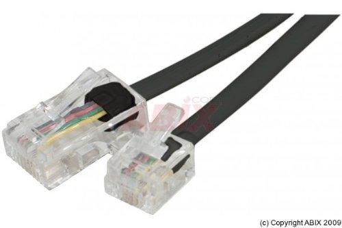 Connect 5 m RJ11 naar RJ45 telefoonkabel - zwart