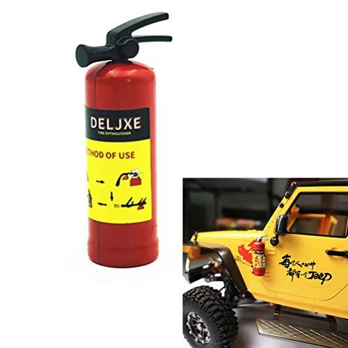RC accessoires brandblusser, 1/10 RC Crawler toebehoren brandblusser model voor Axial SCX10
