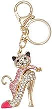 Sleutelhanger Hanger, Schattige Kleurrijke Kat Schoenen Met Hoge Hakken, Auto-accessoires Kleine Geschenken Roze