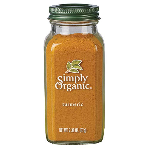 Simply Organic Ground Turmeric Root, Certified Organic | 2.38 oz | Curcuma longa L.
