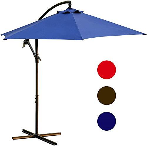 LOKATSE HOME 10 Ft Offset Patio Outdoor Umbrella...