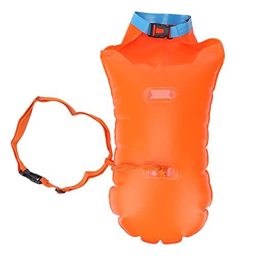 Dry Bag Bolsas impermeables, flotantes y livianas para kayak, canotaje, pesca, natación y camping naranja