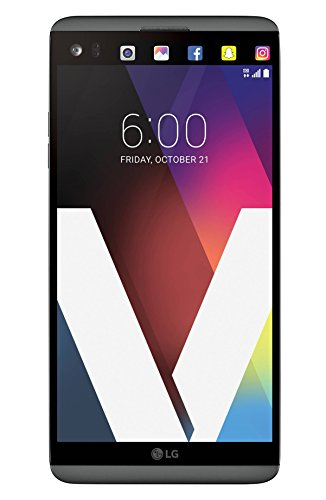 "LG V20 VS995 (64GB) Verizon Wireless 5.7"" IPS LCD Android Smartphone w/ Dual Rear Cameras & Removable Battery- Titan (US Warranty)"