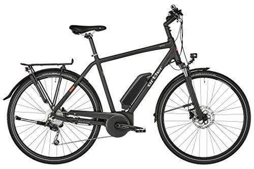 Ortler Bozen Herren Black matt Rahmenhöhe 50cm 2019 E-Trekkingrad