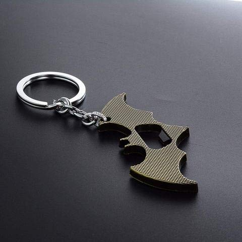 MJ Ragav Batman Key-Chain with Logo Design Metal Key-Chain (Bronze )Best Gift for Boys & Girls & Kids