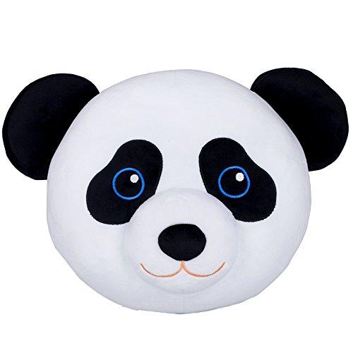 Wildkin Panda en Peluche Oreiller, Super Soft Peluche Oreiller, Coordonne avec d'autres literie et Salle de décoration intérieure, Olive Design Enfants