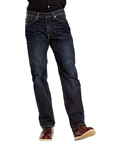 ENZO Jeans Denim Uomo gamba Dritta Regular Fit Pantaloni Pants Tutte Le Taglie Vita