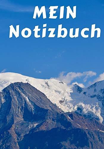 Montblanc Notizbuch: Ihr persönliches Notizbuch mit Montblanc Motiv und ca. 124 leeren Seiten (liniert)