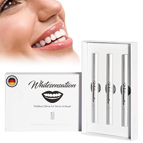 Whitesensation© Zahnaufhellung Gel Nachfüll-Set (3 Stifte / 6 Tage Kur) - Zahnbleaching für weiße Zähne - Homebleaching - Teeth-Whitening Refill - Nachfüll-Gel