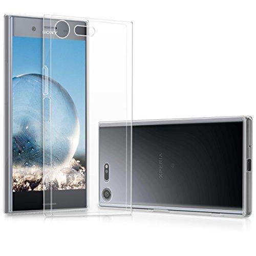 kwmobile Carcasa Compatible con Sony Xperia XZ Premium - Funda de TPU para móvil - Cover Trasero en Transparente
