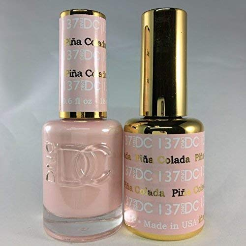 DND DC Duo Gel + Polish - 137 Pina Colada
