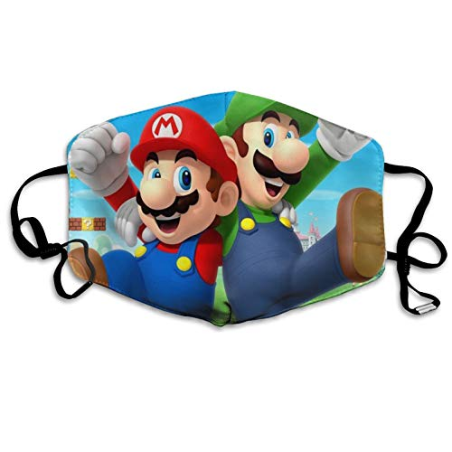 Super Mario Face c-over adjustable elastic ear loops breathable comfortable mouth c-over for boys girls