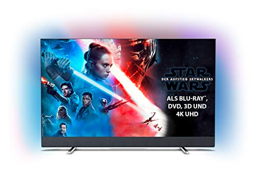 Philips Ambilight 50PUS8804/12 Fernseher 126 cm (50 Zoll) Smart TV (4K UHD, P5 Perfect Picture Engine, HDR 10+, Dolby Vision, Dolby Atmos, Android TV) [Modelljahr 2019]