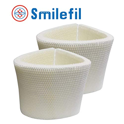 Smilefil 2-Pack Replacement Humidifier Wick Filters Compatible with MAF2 Emerson MoistAIR & 15508 Sears Kenmore
