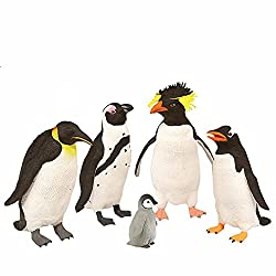 Image: Wild Republic Polybag Penguin Collection 5 Pieces
