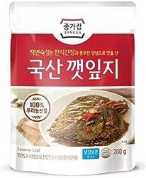 Daesang Jongga Sesame Leaf Kimchi 200g - Chilled