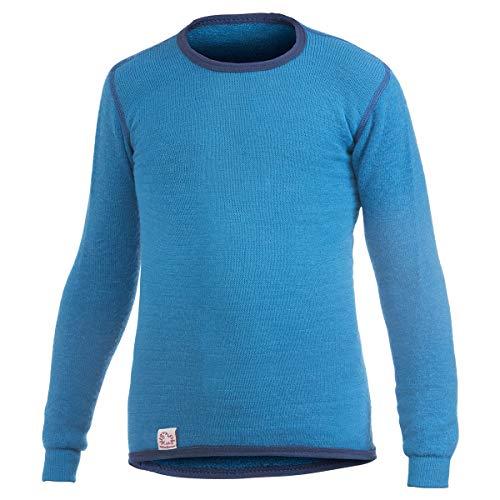 Woolpower 200 - Sweat-shirt - bleu Modèle 134/140 2017 Sous-vêtement