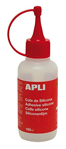 APLI 13349 - Cola de silicona, 100 ml