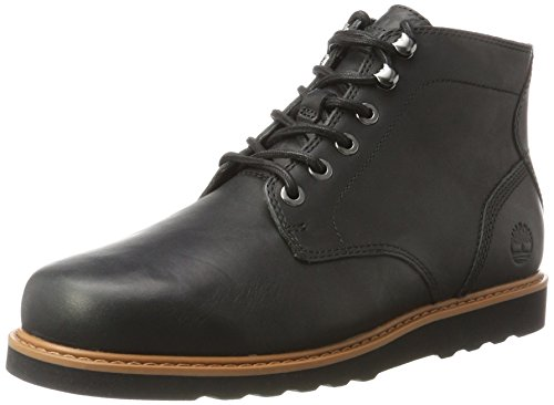 Timberland Herren Newmarket Lug Plain Toe Chukka Boots, Schwarz (Jet Black), 44 EU