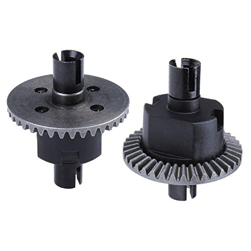 Hobbypark 02024 Front/Rear Differential Gear Set 38T for Redcat Volcano Epx Tornado Epx S30 Shockwave Vortex SS Lightning STR (2 Pieces)