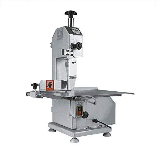 Commercial Home Kitchen Electric Commercial Electric Meat Band Saw Bone Saw Machine/Slicer Saw Deli Meat Grinder Butcher for cutting frozen meat, Sawing pig's trotters, beefsteak Automatic Bone Sawing