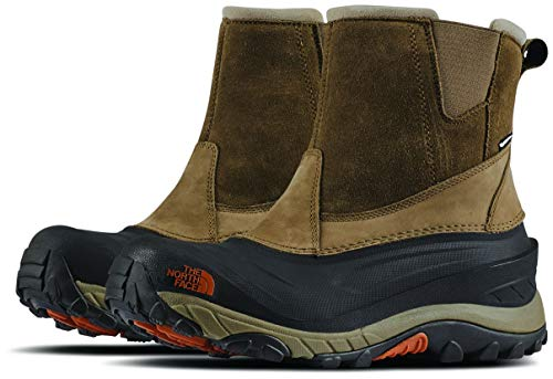 The North Face Men's Chilkat III Pull-On - Mudpack Brown & Bombay Orange - 11.5