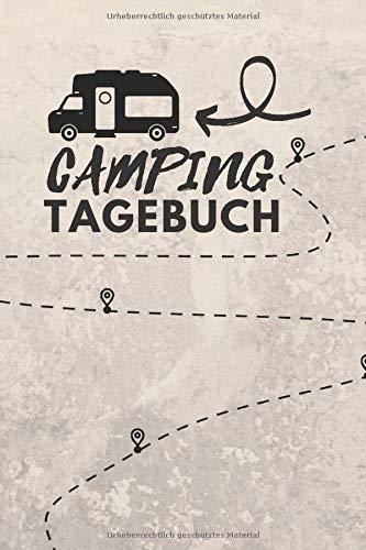 Camping Tagebuch: Reisetagebuch   Camping Logbuch ca. A5 (15,24 x 22,86 cm)