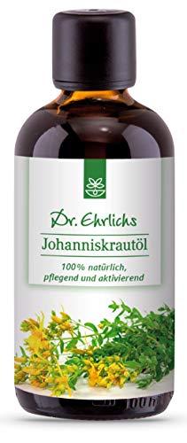 Dr. Ehrlichs Johanniskrautöl - Das Naturheilmittel perfekt zur Hautpflege oder als Einreibung bei...