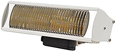 Solaira Cosy SCOSYAW15120W 1500W/120V Outdoor Commercial/Residential Heater, White