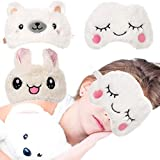 Bohend Animal Sleeping Sleep Mask Cute Soft Plush Blindfold Eye Cover Eyeshade for Kids Teens Girls Women