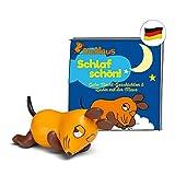 tonies Hörfiguren für Toniebox: Maus Schlaf Schön Figur mit 16 Gute Nacht Geschichten für Kinder - ca. 38 Min. - ab 3 Jahre - DEUTSCH