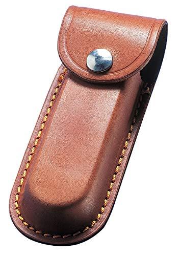 TUFF LUV Étui en cuir personnalisé avec passant de ceinture compatible avec Leatherman Wave+/Rebar/Sidekick/Wingman/Charge+/Rev/Free P2 et P4 Marron