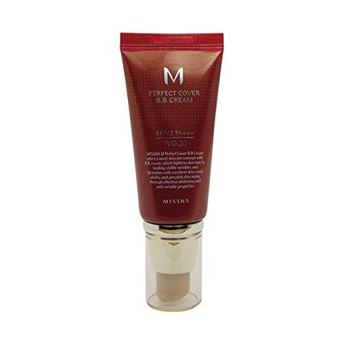 Missha M Perfect Cover BB Cream spf42/Pa + + + No.31Golden Beige...