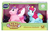 VTECH- Coffret Duo ENCHANTE TUT ANIMO Jouets Premier Age, 80-242205, Multicolore - Version FR