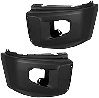 Koolzap For 14-17 Tundra Pickup Front Bumper Face Bar Extension End Left Right SET PAIR