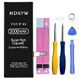 HDXYW Batería para iPhone 6S con 3000mAh de alta capacidad con instrucciones y herramientas de reparación profesionales completas Vida útil extendida / [Garantía de 2 años]