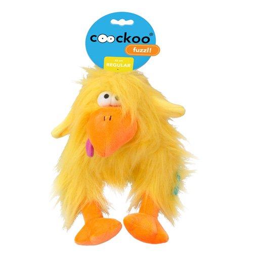 COOCKOO Hundespielzeug Fuzzl Long Hair Plush, Yellow