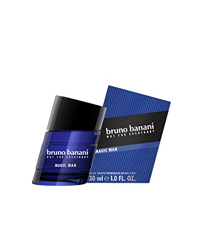 bruno banani Magic Man – Eau de Toilette Natural Spray – Charismatisch-warmes Herren Parfüm – 1er Pack (1 x 30ml)