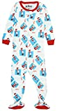 INTIMO Baby Infant Dr. Seuss Cat in The Hat Footie Pajama Sleeper, Multi, 24MO