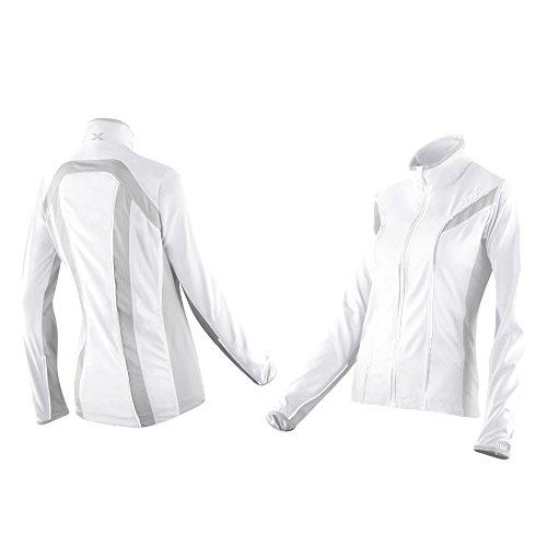 2x u Damen 360Action Jacke, Damen, White/Concrete Grey, Medium