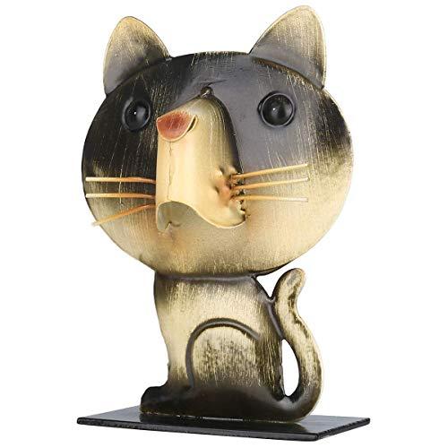 ZWWZ Tier Figur Katze Katze geformte Brillen Acker gläser Brillen Halter tierförmige spektakelanzeige Stehen Vintage wohnkultur MISU
