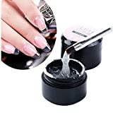 Gel UV Monophase 5ml 3en1(Base Construction Finition) Epais - Manucure, Faux Ongles et Nail Art Gel Extension Rapide (1pc)