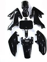 TC-Motor Black Plastic Fender Fairing Kits Kit For Honda XR50 CRF50 Chinese 50cc 90cc 110cc 125cc 140cc 150cc 160cc Dirt Pit Bike